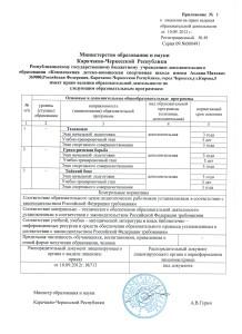 Приложенипе РГБУ
